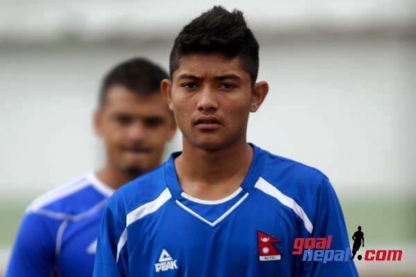 bimal Gharti Magar, Nepali footballer