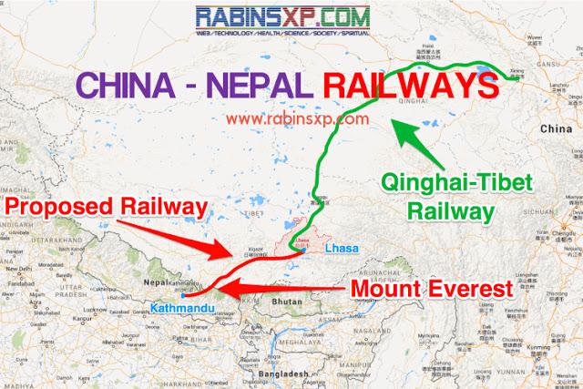 China Nepal Railways / CHINA - NEPAL RAILWAYS TO KERUNG, KATHMANDU, POKHARA AND LUMBINI