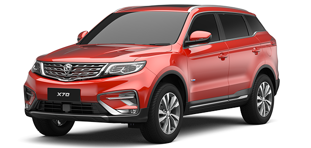 Proton X70 Front Styling