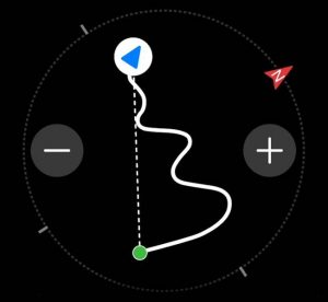 Huawei Watch GT 2 Pro - Route Back