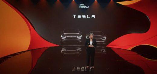 AMD RDNA 2 GPU Tesla Model S Model X