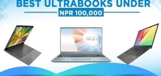 Best ultrabooks under 100000 in Nepal