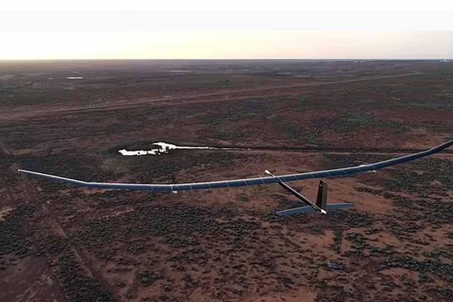 PHASA-35 in air