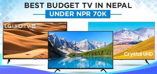 Best budget 4K UHD TV in Nepal under NPR 70000 Smart Cheap