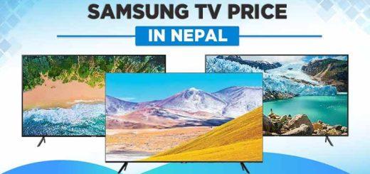 Samsung TV Price in Nepal LED QLED 4K UHD FHD HD 2021