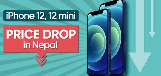 iPhone 12 mini price drop in Nepal