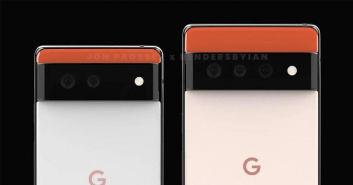 Google Pixel 6 and 6 Pro Rumor