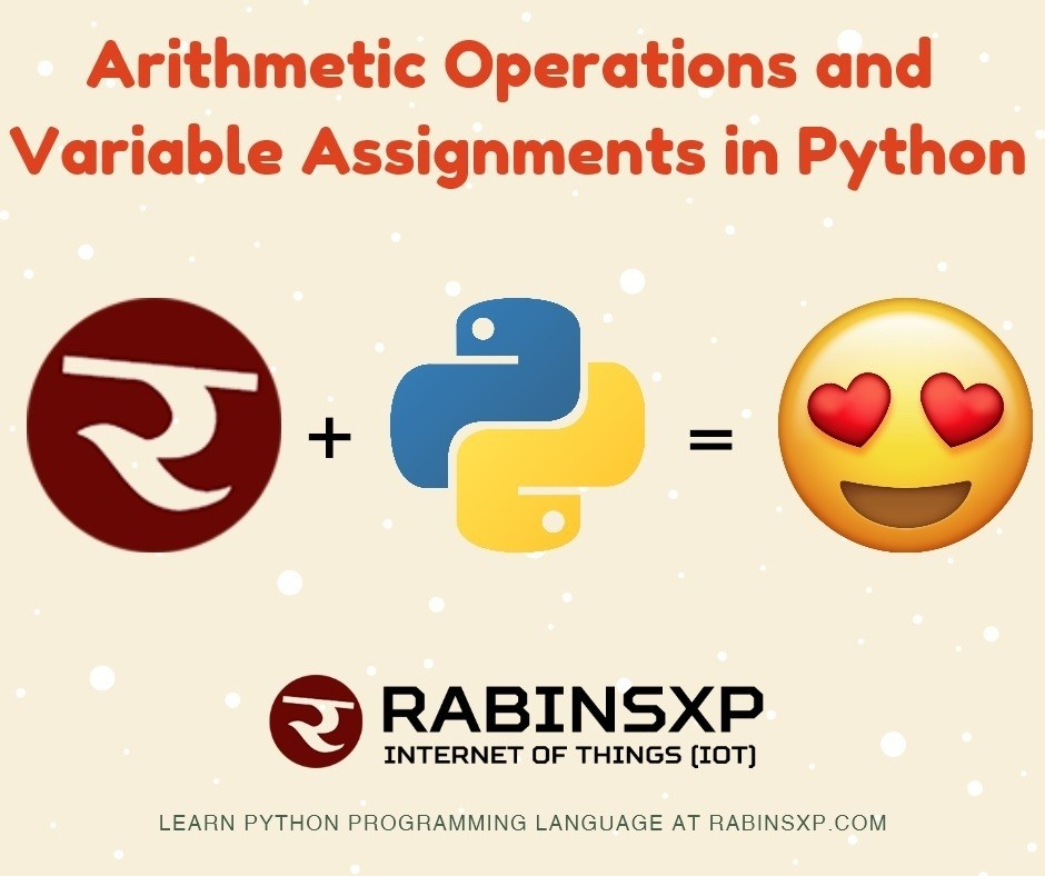 Python-Arithmetic Operations and Variable Assignments