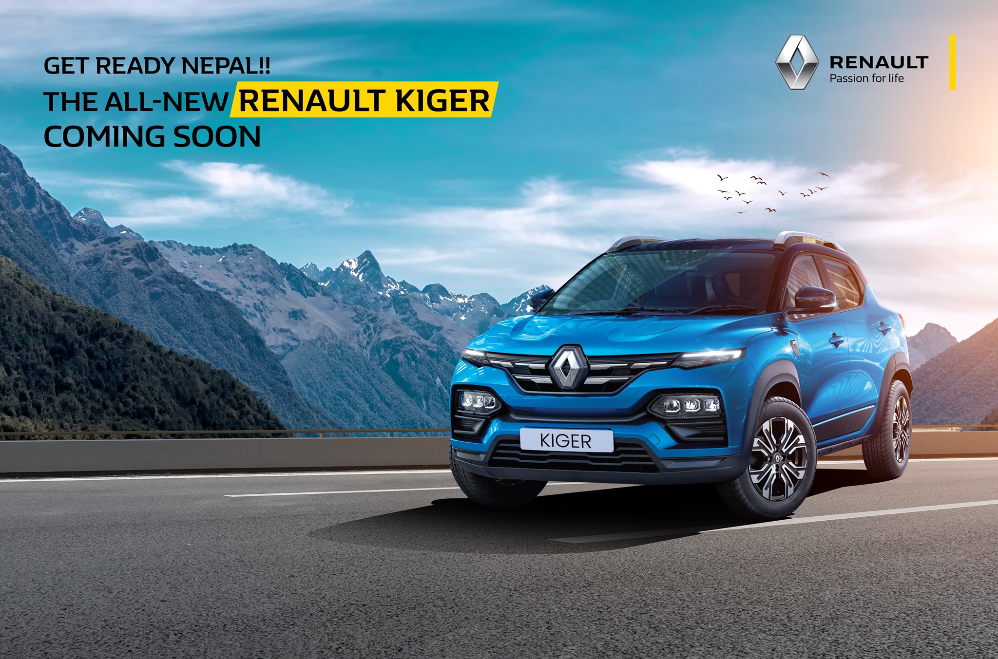 Renault Kiger Open for Booking in Nepal