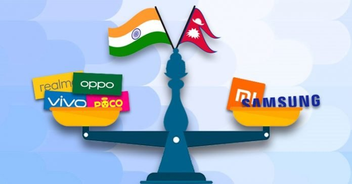 Smartphones price difference between Nepal and India Xiaomi Poco Realme Oppo Vivo Samsung