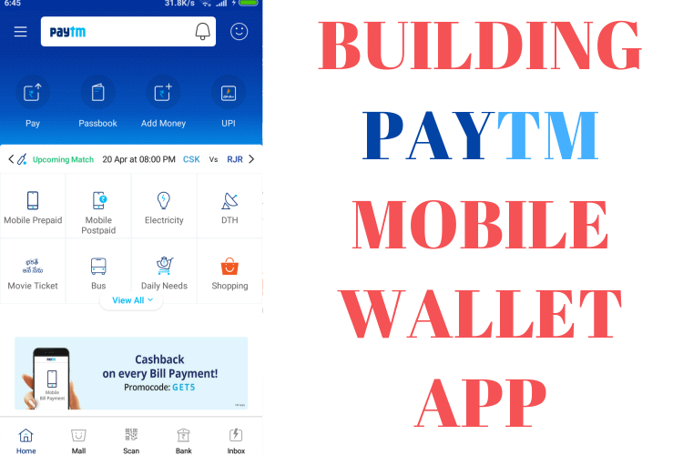 How to build Paytm App? - RabinsXP